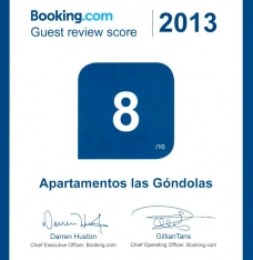 NOTATION SUR BOOKING.COM 2013